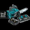 Makita 18V X2 LXT® Lithium-Ion (36V) Cordless Chain Saw Kit, dual port charger (4.0Ah)