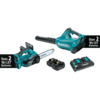 Makita 18V X2 LXT® Lithium-Ion Cordless 2 Pc. Combo Kit (4.0Ah)