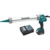 Makita 18V LXT® Lithium-Ion Cordless 20 oz. Barrel Style Caulk and Adhesive Gun Kit, with one battery (3.0Ah)