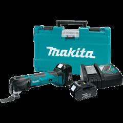 Makita 18V LXT® Lithium-Ion Cordless Multi-Tool Kit, tool-less, 6,000-20,000 OPM