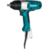 "Makita 1/2"" Impact Wrench w/ detent pin anvil, 3.3 AMP, 0-2,200 IPM, 150 ft. lbs., var. spd., reversible, case"