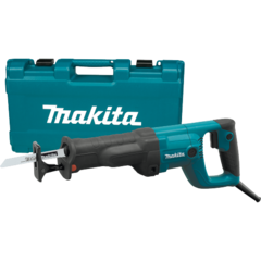 Makita Recipro Saw, 11 AMP, var. spd., tool-less blade change and shoe adjustment, case