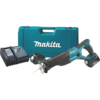 Makita 18V LXT® Lithium-Ion Cordless Recipro Saw Kit, var. spd., tool-less blade change and shoe adjustment, tool hook, L.E.D. Light, case (3.0Ah)