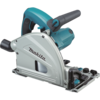 "Makita 6-1/2"" Plunge Circular Saw, 12 AMP, electric brake, case"