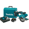 "Makita 18V LXT® Lithium-Ion Cordless 5-3/8"" Metal Cutting Saw Kit, blade right, L.E.D. Light, case (4.0Ah)"