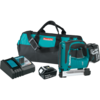 "Makita 18V LXT® Lithium-Ion Cordless 3/8"" Crown Stapler Kit, bag (3.0Ah)"