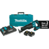 Makita 18V X2 LXT® Lithium-Ion (36V) Brushless Cordless Recipro Saw Kit, 2-speed, var. spd., tool-less blade change, dual port charger, case (4.0Ah)