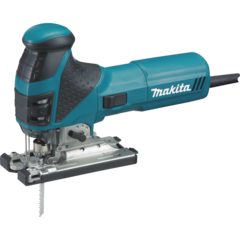 Makita Barrel Grip Jig Saw, tool-less, L.E.D. Light, 800-2,800 SPM, var. spd., orbital, case