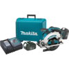 "Makita 18V LXT® Lithium-Ion Cordless 6-1/2"" Circular Saw Kit, blade left, L.E.D. Light, case"