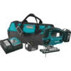 Makita 18V LXT® Lithium-Ion Cordless Jig Saw Kit, orbital, var. spd., L.E.D. Light, bag