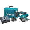 "Makita 18V LXT® Lithium-Ion Cordless 5-3/8"" Metal Cutting Saw Kit, blade right, L.E.D. Light, case"