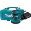 "Makita 5"" Random Orbit Sander, 3 AMP, 12,000 OPM, case"
