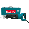 Makita AVT® Recipro Saw, 15 AMP, var. spd., orbital, tool-less blade change and shoe adjustment, steel case