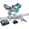 "Makita 18V LXT® Lithium-Ion Cordless 7-1/2"" Dual Slide Compound Miter Saw Kit"