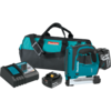 "Makita 18V LXT® Lithium-Ion Cordless 3/8"" Crown Stapler Kit, bag (5.0Ah)"