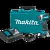 Makita 18V LXT® Lithium-Ion Compact Brushless Cordless Impact Driver Kit, var. spd., rev. L.E.D. Light, case (2.0Ah)