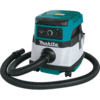 Makita 18V X2 LXT® Lithium-Ion (36V) Cordless/Corded 2.1 Gallon HEPA Filter Dry Vacuum