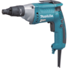 Makita Screwdriver, 6 AMP, 0-2,500 RPM, var. spd., reversible, L.E.D. Light