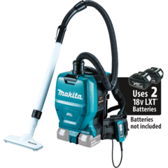 Makita 18V X2 LXT® Lithium-Ion (36V) Brushless Cordless 1/2 Gallon HEPA Filter Backpack Dry Vacuum
