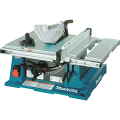 "Makita 10"" Contractor Table Saw, electric brake"