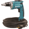 Makita Drywall Screwdriver, 6 AMP, 0-4,000 RPM, var. spd., reversible, L.E.D. Light with 50 ft. twist-lock cord