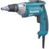 Makita Drywall Screwdriver, 6 AMP, 0-2,500 RPM, var. spd., reversible, L.E.D. Light