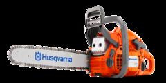 "Husqvarna 450 18"", .325 pitch, .050 Ga. 50.2cc Chainsaw"