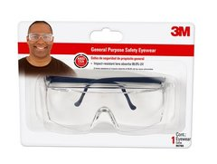 3M SAFETY GLASSES CLR