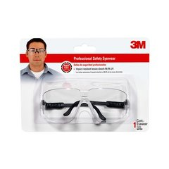 3M SAFETY GLASSES CLEAR