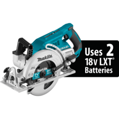 "Makita XSR01Z 18V X2 LXT® Lithium‑Ion (36V) Brushless Cordless Rear Handle 7‑1/4"" Circular Saw"