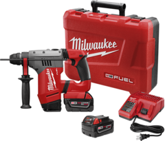 """Milwaukee 2715-22  M18 FUEL™ 1-1/8"""" SDS Plus Rotary Hammer Kit"""