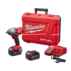 "Milwaukee 2861-22 M18 FUEL 1/2"" Mid-Torque Impact Wrench with Friction Ring Kit"