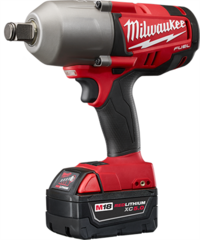 "Milwaukee 2764-22 M18 FUEL™ 3/4"" High-Torque Impact Wrench with Friction Ring Kit"