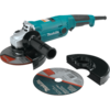 "Makita 6"" Cut-Off/Angle Grinder, 10.5 AMP, 10,000 RPM, 5/8""-11, AC/DC, no lock-off, no lock-on (includes both cutting/grinding wheels & guards)"