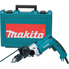 "Makita 3/4"" Hammer Drill, 6.6 AMP, 2-speed, var. spd., reversible, case"