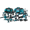 Makita 18V LXT® Cordless 15 Pc. Combo Kit