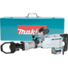 "Makita 42 lb. Demolition Hammer, 1-1/8"" Hex, AC/DC, case"