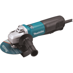 "Makita 6"" SJS™ Paddle Switch Angle Grinder, 13 AMP, 9,000 RPM, 5/8""-11, lock-off, no lock-on"