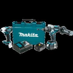 Makita 18V LXT® Lithium-Ion Brushless Cordless 2 Pc. Combo Kit (4.0Ah)