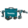 Makita 18V LXT® Lithium-Ion Brushless Cordless 2 Pc. Combo Kit (4.0Ah)