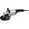 "Makita 7"" Angle Grinder, 15 AMP, 6,000 RPM, metal housing, 5/8""-11, AC/DC, no lock-off, lock-on"