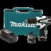 "Makita 12V max Lithium-Ion Cordless 3/8"" Driver-Drill Kit, 2-speed, var. spd., rev., L.E.D. Light, case"