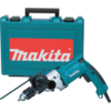 "Makita 3/4"" Hammer Drill, 6.6 AMP, 2-speed, var. spd., reversible, L.E.D. Light, case"