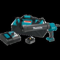 Makita 18V LXT® Lithium-Ion Cordless 29 oz. Caulk and Adhesive Gun Kit, with one battery, bag (5.0Ah)