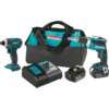 Makita 18V LXT® Lithium-Ion Cordless 2 Pc. Combo Kit (4.0Ah)