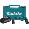 "Makita 7.2V Lithium-Ion Cordless 1/4"" Hex Driver-Drill Kit with Auto-Stop Clutch"