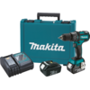 "Makita 18V LXT® Lithium-Ion Brushless Cordless 1/2"" Hammer Driver-Drill Kit, 2-speed, var. spd., L.E.D. Light, case (3.0Ah)"