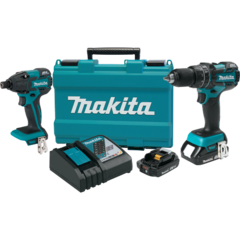 Makita 18V LXT® Lithium-Ion Compact Brushless Cordless 2 Pc. Combo Kit (2.0Ah)