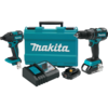 Makita 18V LXT® Lithium-Ion Compact Brushless Cordless 2 Pc. Combo Kit (2.0Ah)