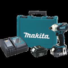 Makita 18V LXT® Lithium-Ion Brushless Cordless 3-speed Impact Driver Kit, var. spd., rev., L.E.D. Light, case